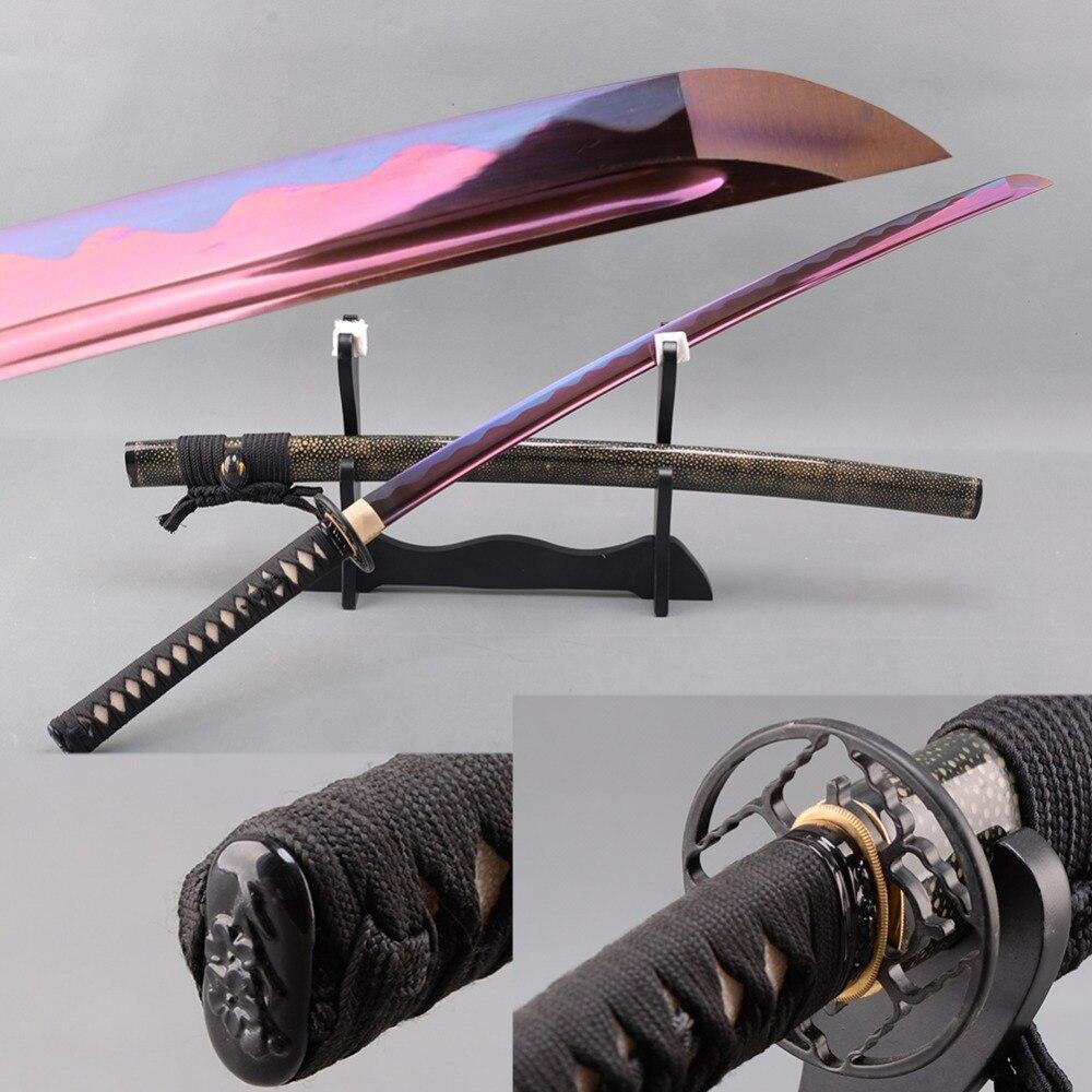 Brandon Sharp Japanski mač sa samurajima Katana mangan, čelično - Kućni dekor - Foto 1