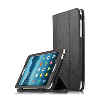 High Quality Folio Genuine Leather Case Cover For HuaWei MediaPad T1 8 0 S8 701U S8