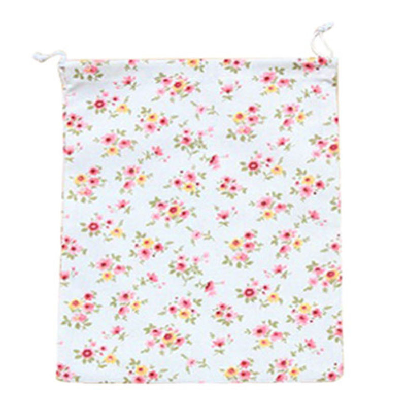 Home storage organization Underwear shoe bag toy organizer Fluid Systems pouch Item Accessories(Small Floral)S:14*17.5cm