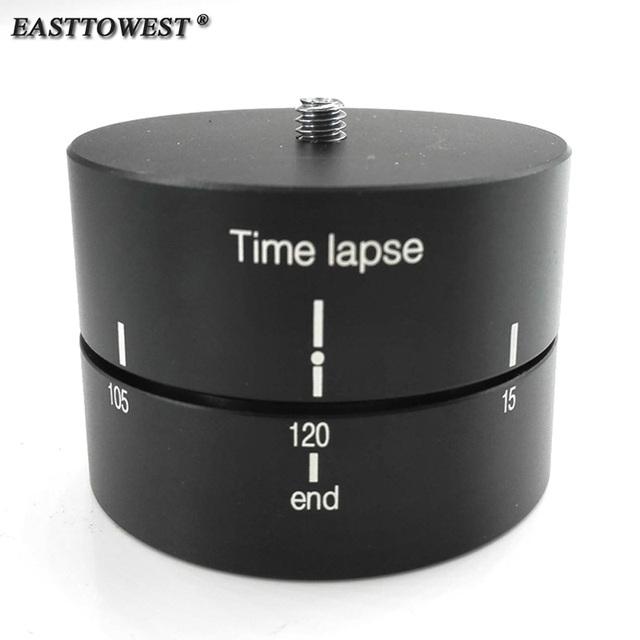 Acessórios gopro 120 minutos panorama panning rotating time lapse para celular gopro hero 4 3 sjcam dslr canon s60