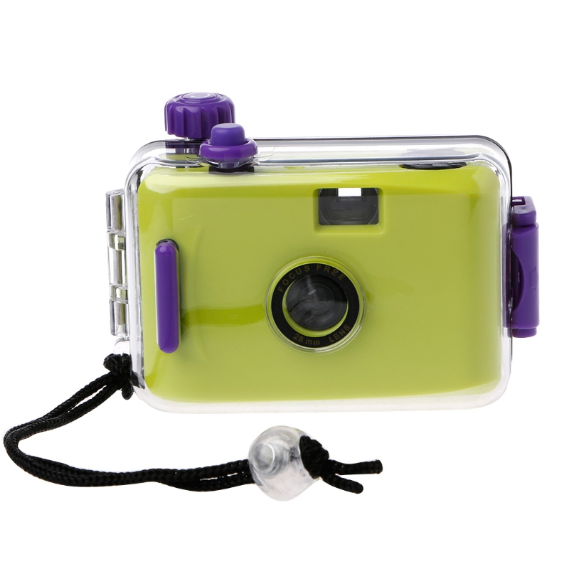 LOMO Underwater Waterproof Mini 5 Colors lomo camera Hello Kitty Flag auto focus camer 35mm Film Camera