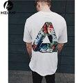 Palace T shirt Men Flower print Skateboards T-Shirts 100% Cotton Summer Style Short Sleeve Causal Tee Palace T shirt