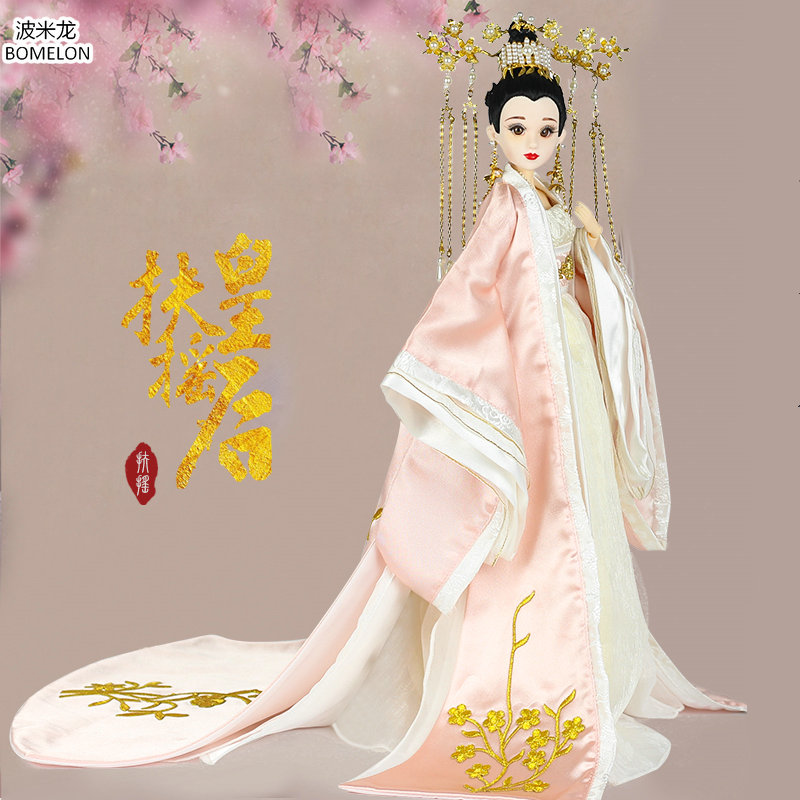 Handmade Original Fu Yao Dolls Chinese Ancient 1/6 Bjd Jointed Doll Collection Toys for Girls Gifts Brinquedos Rapunzel