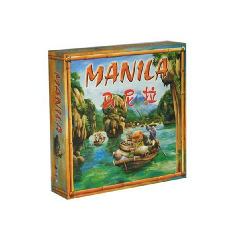 Manila Board Game Trade Educational Toy Perfect Chinese Version For 3-5 Players Funny Family Board Games For Kids funny fishing game family child interactive fun desktop toy