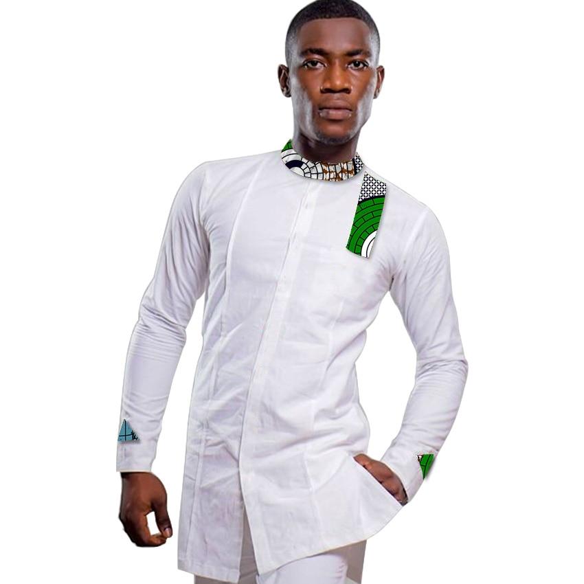 Ανδρικά αφρικανικά πουκάμισο - Εθνικά ρούχα - Φωτογραφία 6