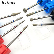 Hytoos 22 tipos de diamante broca do prego 3/32