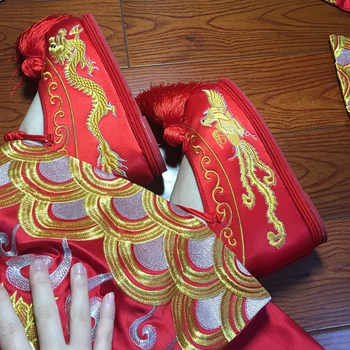 embroidered chinese shoes wedding cloth shoes for women red vintage wedding shoes classic princess cosplay ancient dynasty shoes - DISCOUNT ITEM  15% OFF Novelty & Special Use