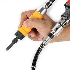 Image 5 - Tungfull Elektrische rinding Flexible Welle Schlauch Bohrfutter Gravur Maschine Gravur Pen Bohrmaschine Dremel Zubehör