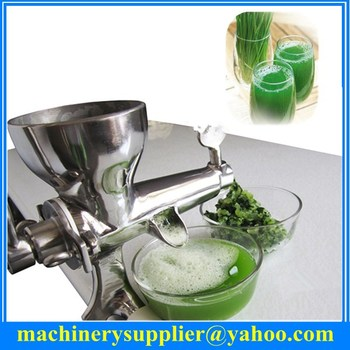 mini manual cucumber juicer fruit juicer separation of juice from dregs wheat grass stainless steel manual juicer