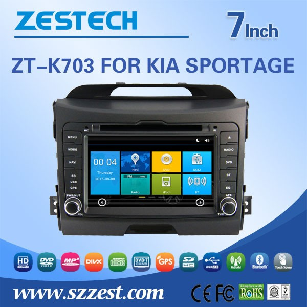 7 Inch 2 Din Winca System Car Dvd Player For Kia Sportage Car Radio