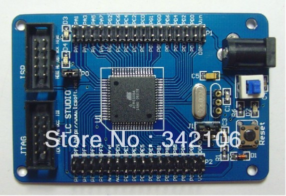 Free Shipping!!!  5pcs ATmega64 M64 AVR development board core board minimum system