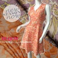 145x50cm European Style Leaf Metallic Jacquard Brocade Fabric 3D Jacquard Yarn Dyed Fabric For Fashion Summer