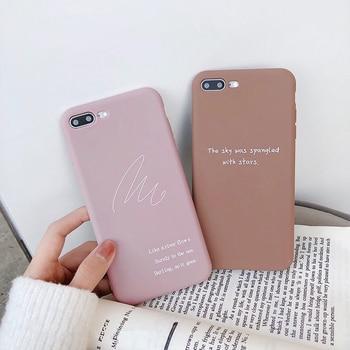Soft TPU Case For iPhones Slim Couple Case 5