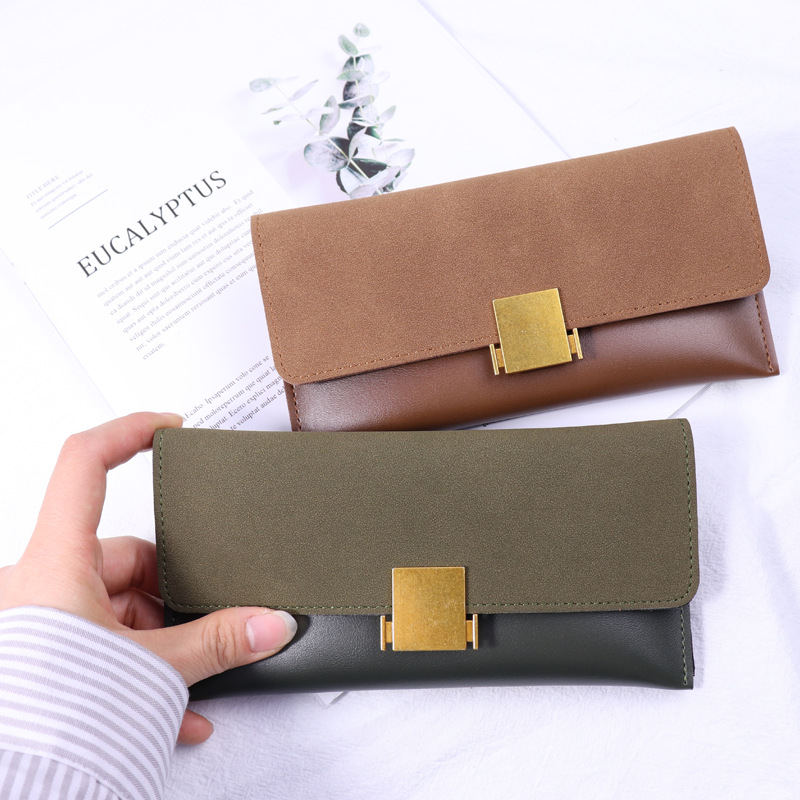 Luxury Brand Designer Leather Slim Wallets Women Long Hasp Coin Purses Clutch Phone Wallets Female Credit Card Holder Money Bags women wallet female 2016 coin purses zipper famous brand designer pu leather lady long clutch wallets hold mobile phone cards