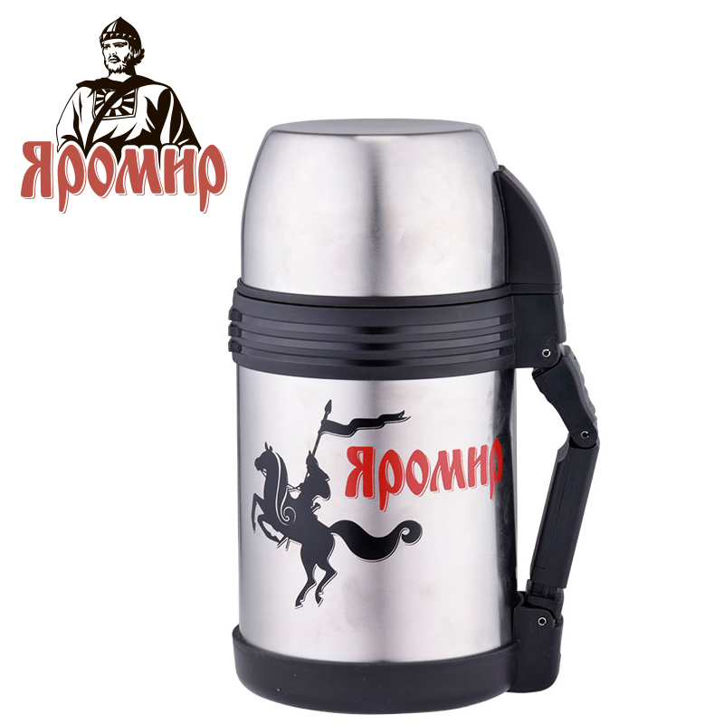 YAROMIR YAR-2003M Thermose 1000ml Vacuum Flask Thermose Travel Sports Climb Thermal Pot Insulated Vacuum Bottle Stainless Steel yaromir yar 2002m thermose 1500ml vacuum flask thermose travel sports climb thermal pot insulated vacuum bottle stainless steel