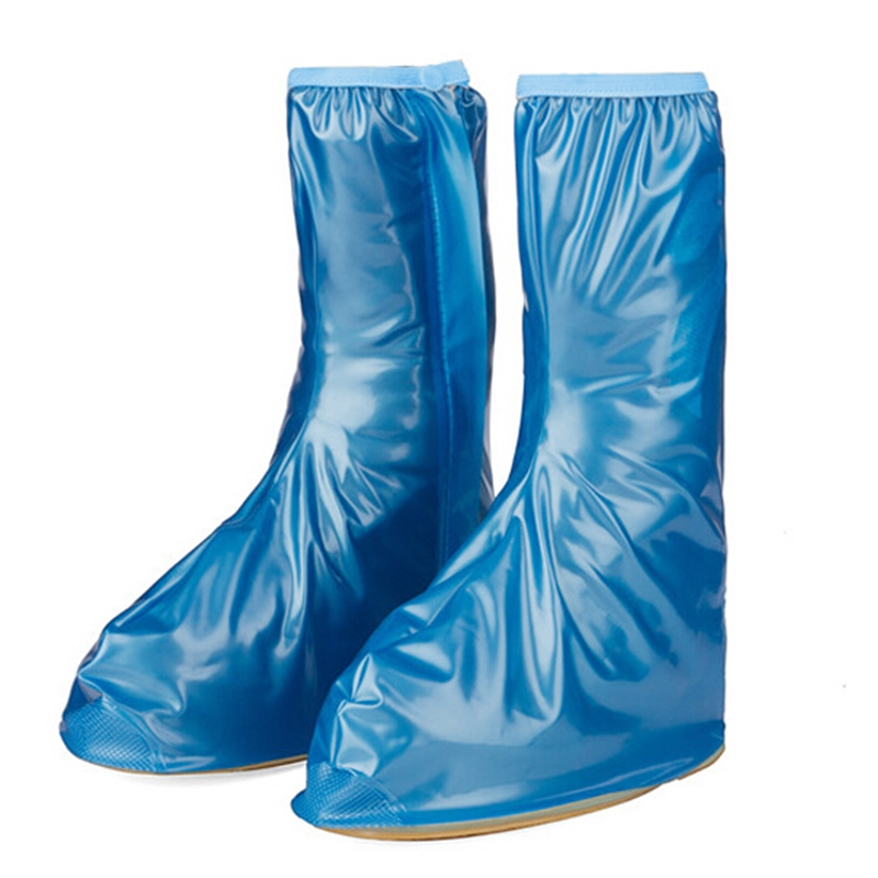 Waterproof Rain Reusable Shoes Cover Thickening Bottom Non-slip Rain Boots Overshoes Men&Womens Shoe Protection Cover
