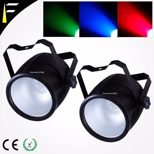 60w RGB COB LED Par Cannon Light Music/DMX Mode Controlled Stage Wash Par Can Licht Tri Color Free Delivery Disco DJ Parcan Luz