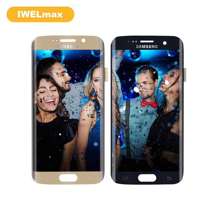 ORIGINAL für SAMSUNG Galaxy S7 Rand G935 G935F G935A G935P LCD Display Touchscreen Digitizer Ersatzteile