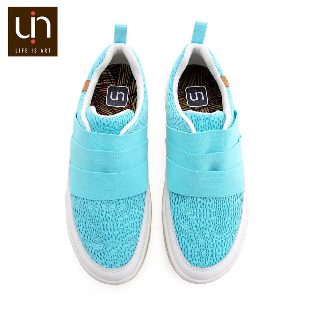 UIN Ibiza Design Mikrofaser Casual Turnschuhe für Frauen Komfort Slip on Wohnungen Schuhe Atmungs Reise Damen Loafers-in Flache Damenschuhe aus Schuhe bei  Gruppe 1