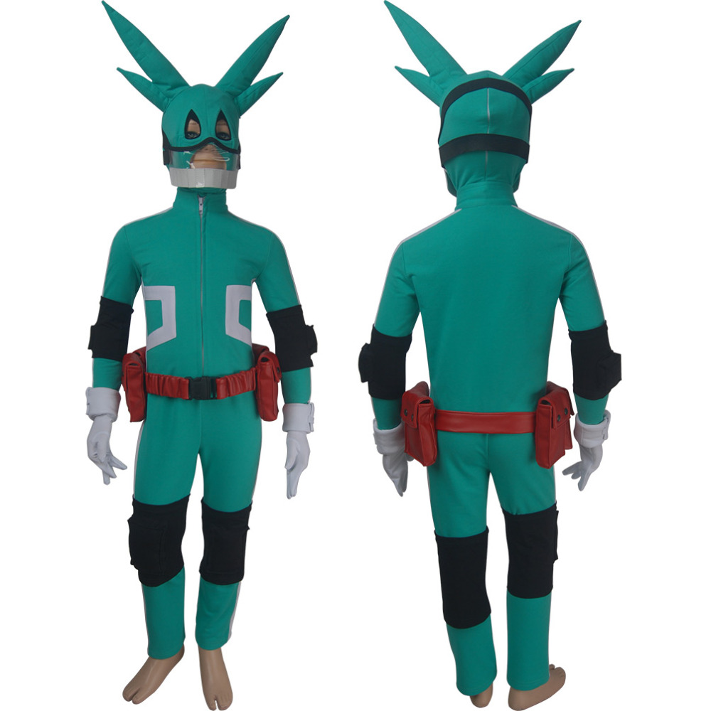 My Hero Academia cosplay Izuku Midoriya superhero costume Quirk Halloween make-up costume X'mas birthday Valentine's day gift