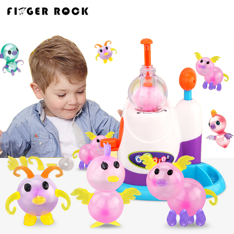 Novelty & Gag Toys Nfstrike Diy Children Sticky Balloon Toy With Inflator Set Support Kid Hand-on Ability Development Kit 2018 New Arrival Toys & Hobbies