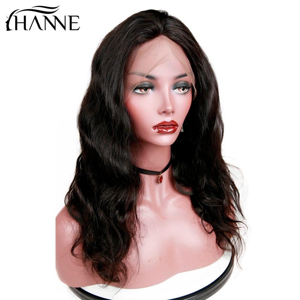 HANNE Rambut Brasil Menenun Alami Rambut Manusia Wig untuk Wanita - Pasokan kecantikan - Foto 4
