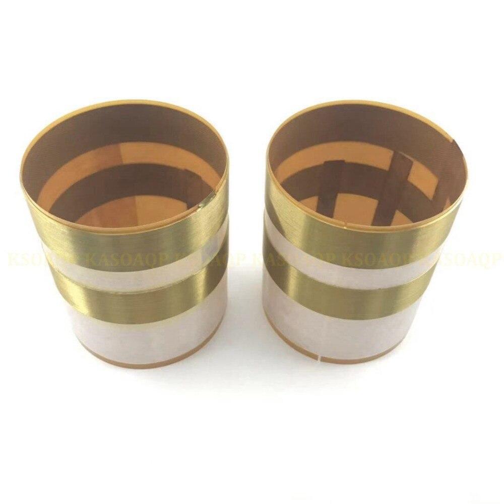 2 pièces En Aluminium Plat fil bobine Pour JBL 2262HPL, JBL 2265HPL, JBL 2268HPL, JBL SRX bobine 8 ohms # 3Z-in Accessoires enceintes from Electronique    1