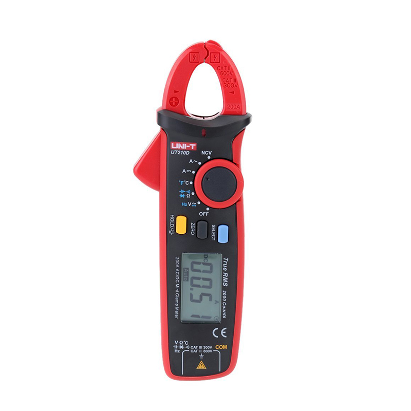 Clamp On Multimeters Current Probes : Uni t ut d digital clamp meter multimeters ac dc current