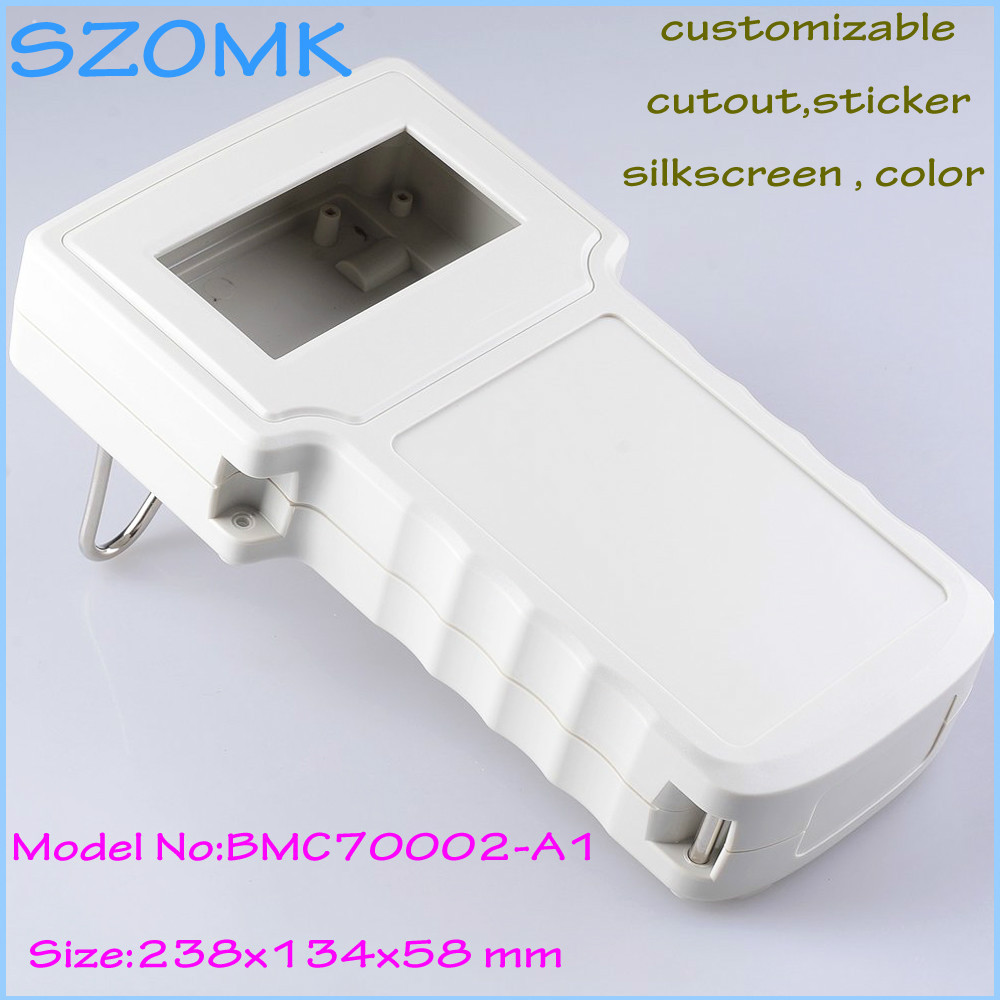 10 pcs, Plastic electronics project instrument box 238*134*58mm instrument housing case control box electro shocker case цена
