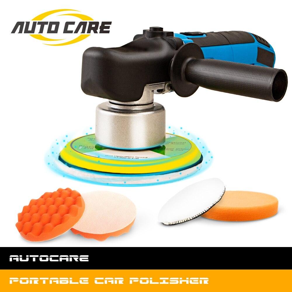 75mm Polishing Pads 5Pcs Car Buffing Foam Sponge Pads Kit for Car Polisher and Boat Polisher Sanding,Polishing,Waxing lesgos 3Inch