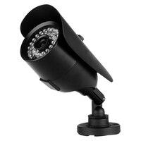 Großhandel 1000TVL Cctv-kamera Dome Outdoor Indoor IR Nachtsicht Sicherheit Infrarot Schwarz