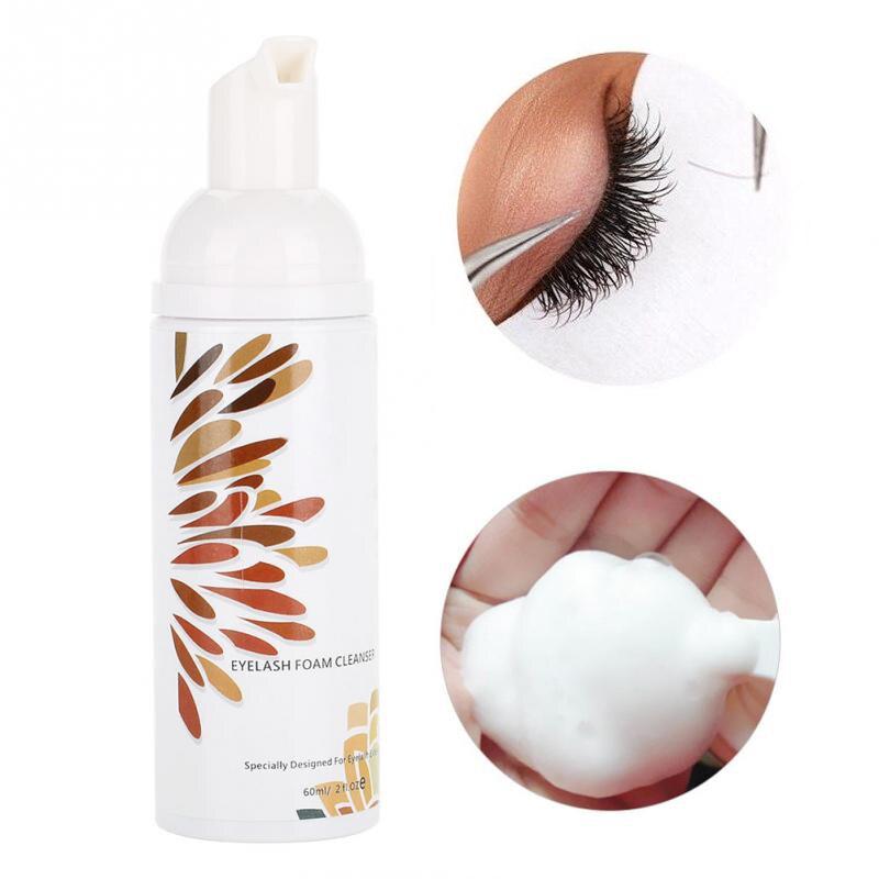 Eyelash Extension Glue Eye Lash Cleaning Foam Professional Eyelash Extensions Cleanser Shampoo No Stimulation Makeup Clean Tools
