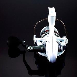 Image 5 - High Quality Brand 14BB Fishing Reel CNC Rocker Arm Spinning Reel White Color Carp Fishing Feeder Reel Fishing Fishing Tackl