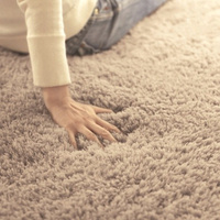 Oval Floormat Carpet Long Hair Shaggy Mat Soft Area Rug Bedroom Living Room Carpet Hallway Soft Carpet Home Decoration