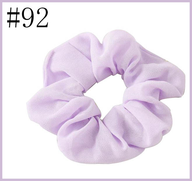 free shipping 120pcs Women Elegant Velvet Solid Elastic Hair Bands Ponytail Holder hair Scrunchies Tie Hair
