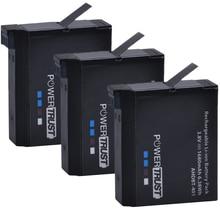 PowerTrust 3 шт. 1680 мАч AHDBT-401 AHDBT 401 батареи для Go Pro GoPro 4 Hero 4 экшн-камеры батареи