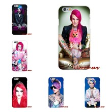 For iPhone X 4 4S 5 5S 5C SE 6 6S 7 8 Plus Accessories Phone Cases Covers jeffree star(China)