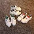2017 nuevos niños flat shoes shoes niños y niñas de cuero casual shoes niños deportes running shoes estudiante skate shoes 801