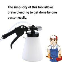 Car Accessories 1.25L Air Brake Bleeder Kit Pneumatic Brake Clutch 90-120 PSI Vacuum Hydraulic Fluid Fill Bottle Set
