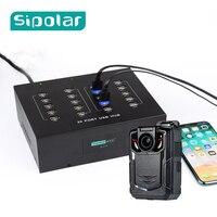 Sipolar A 210P High quality 5V22A USB 2.0 hub 20 port with power adapter for Huawei E220 3G modem police body camera