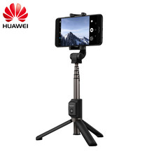 Asli Huawei Honor AF15 Bluetooth Selfie Stick Tripod Portable Kontrol Nirkabel Monopod untuk Ponsel(China)