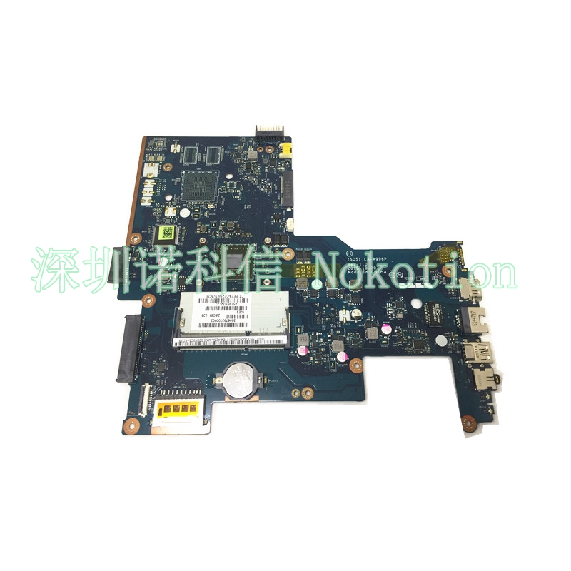 NOKOTION 760829-001 760149-501 For Laptop Motherboard HP 15-H 15-G series ZS051 LA-A996P REV 1.0 AM5200 cpu mainboard 815248 501 main board for hp 15 ac 15 ac505tu sr29h laptop motherboard abq52 la c811p uma celeron n3050 cpu 1 6 ghz ddr3