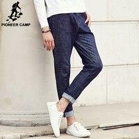 Pioneer Camp Spring Autumn Famous Brand Men Casual Jeans Men Street Jeans Homme Elastic Pencil Pants