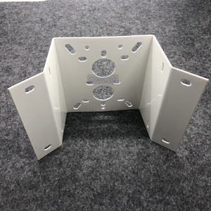 Image 3 - High Quality External Right Angle 90 degree Corner bracket Mounting Outside CCTV Bracket Stand holder for Security CCTV camera