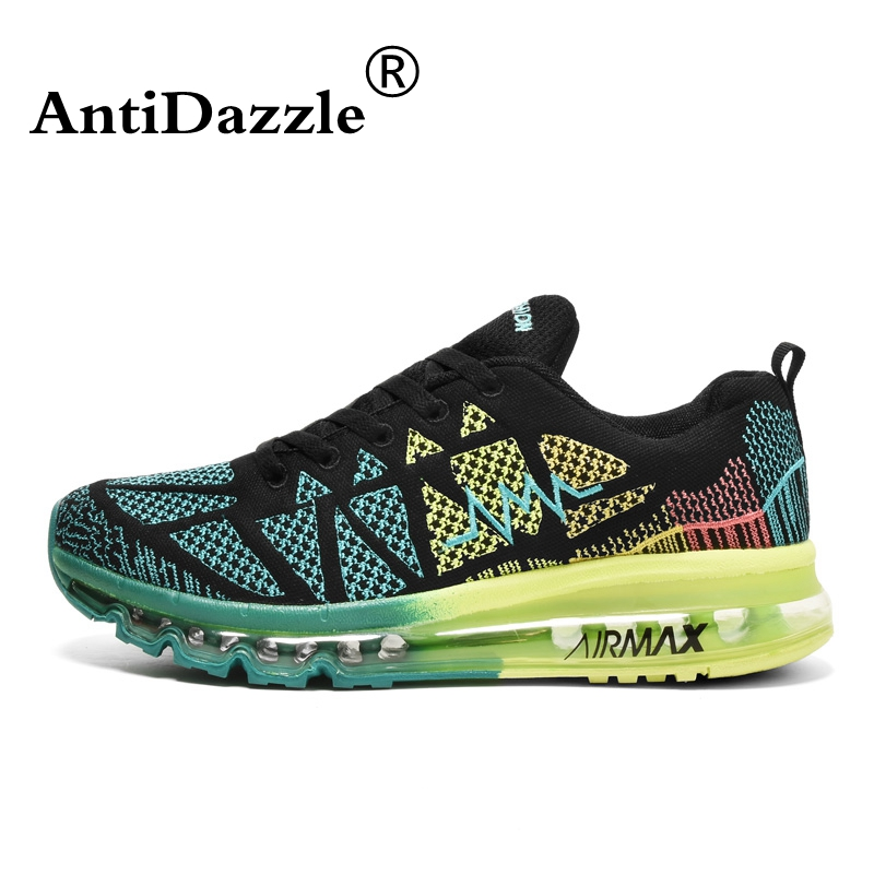 antidazzle running shoes sneakers breathable air