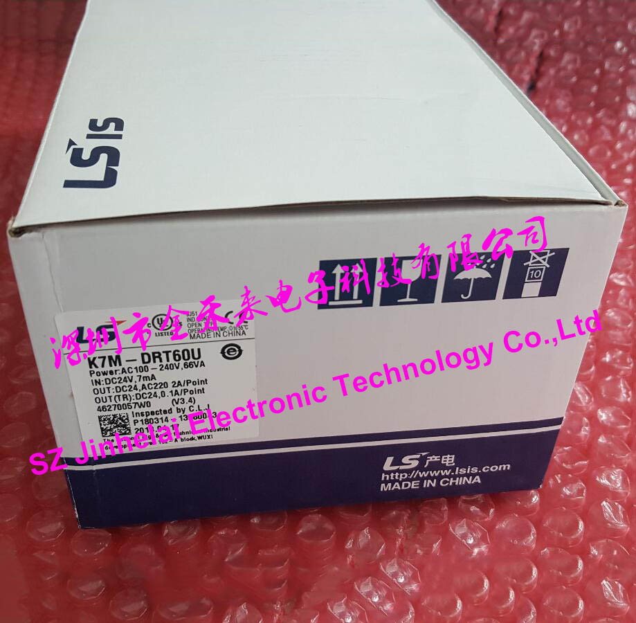 K7M-DRT60U New and original LS(LG) Plc controller 100% new and original g6i d22a ls lg plc input module