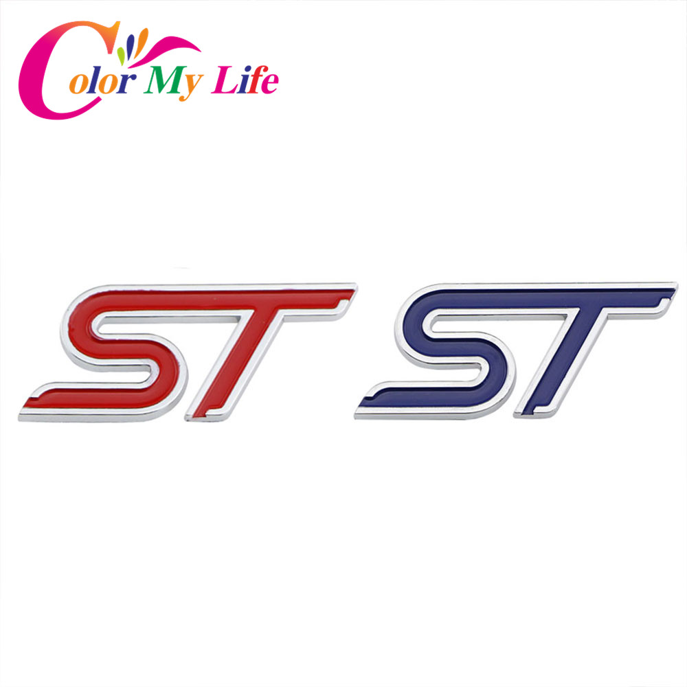 Color My Life ABS Chrome 3D St...