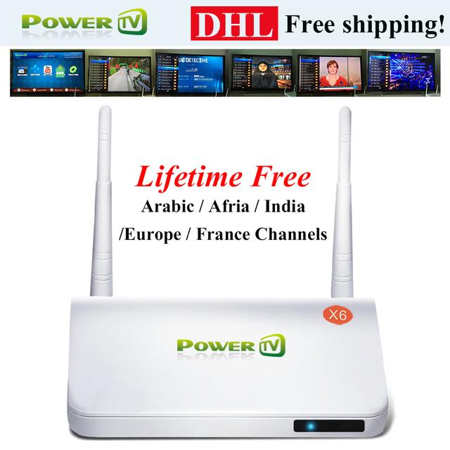 Envío rápido/free, el streaming de iptv árabe caja de envío para siempre Sin cuota mensual, Arabe Europa deporte África Canales streamer