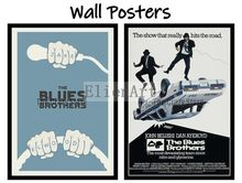 The Blues Brothers Movie Home Decorative Painting White Kraft Paper Poster 42X30cm
