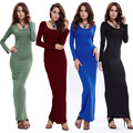 2016 New women dress sexy club party winter dress fashion long sleeve bodycon dresses hot sale bandage dresses